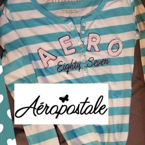 S Aeropostal 1/2 sleeve tee